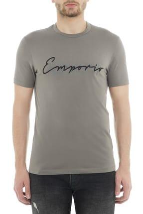 Emporio Armani Gri Erkek T-Shirt