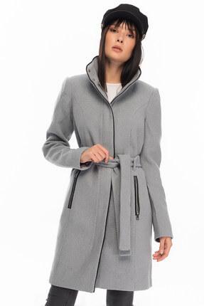 Vero Moda Kadın Açık Gri Kaban 10199024