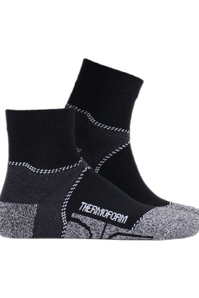 THERMOFORM Siyah Walking Patik Çorap
