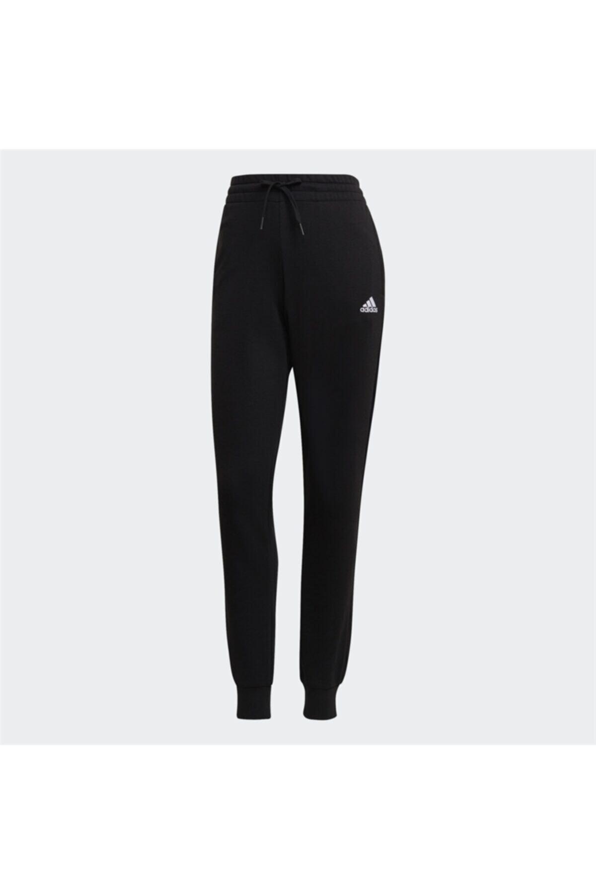 adidas Kadın Siyah Beyaz W Lın Ft C Pt Spor Eşofman Altı 2