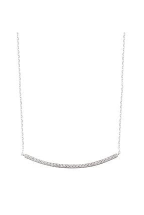 Coquet Accessories Kadın Su Yolu Gümüş Kolye 19G9U24N045