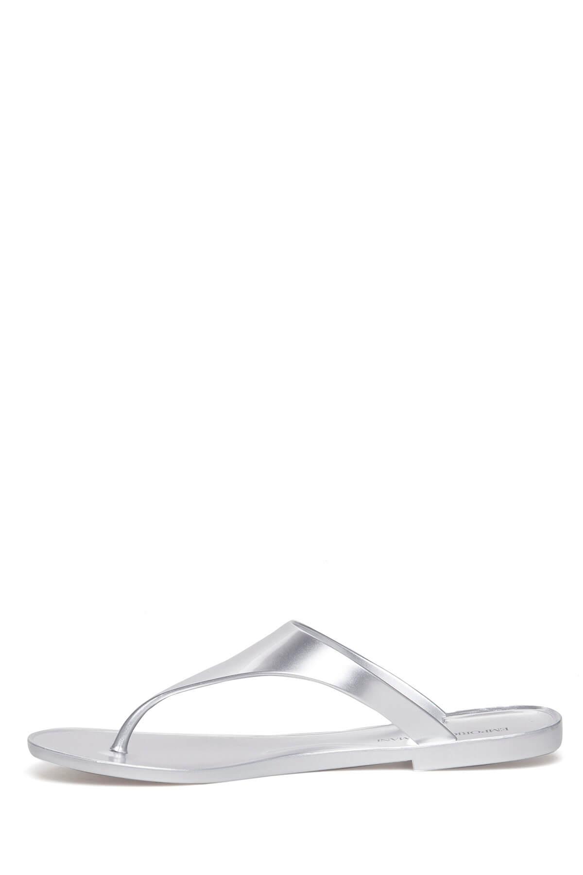 Emporio Armani Gümüş Kadın Terlik X3Q058 Xd134 00520 2