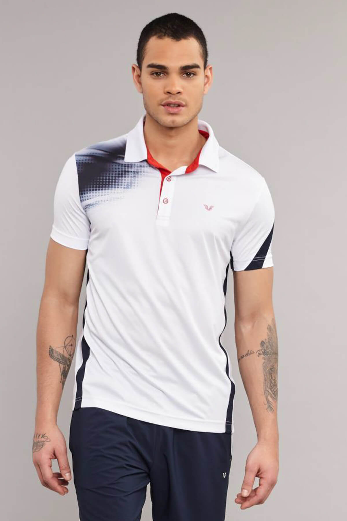 bilcee Erkek Antrenman T-Shirt ES-3829 1