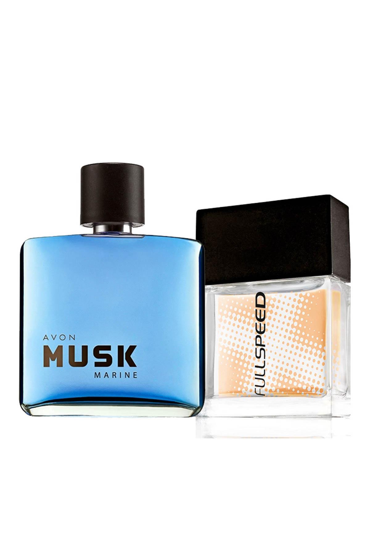 AVON Musk Marine & Full Speed 2'li Erkek Parfüm Seti 8681298982883 1