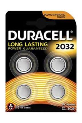 Duracell Lithium 3V Pil 4 Adet Kd Cr2032