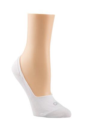 Calvin Klein Kadın Beyaz Soket Çorap TUMYILECC524-10