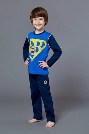 Fenerbahçe Lisanslı Erkek Garson Pijama Takımı