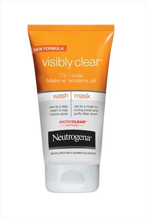 Neutrogena Visibly 2'Si 1 Arada Maske Ve Temizleme Jeli 150 ml