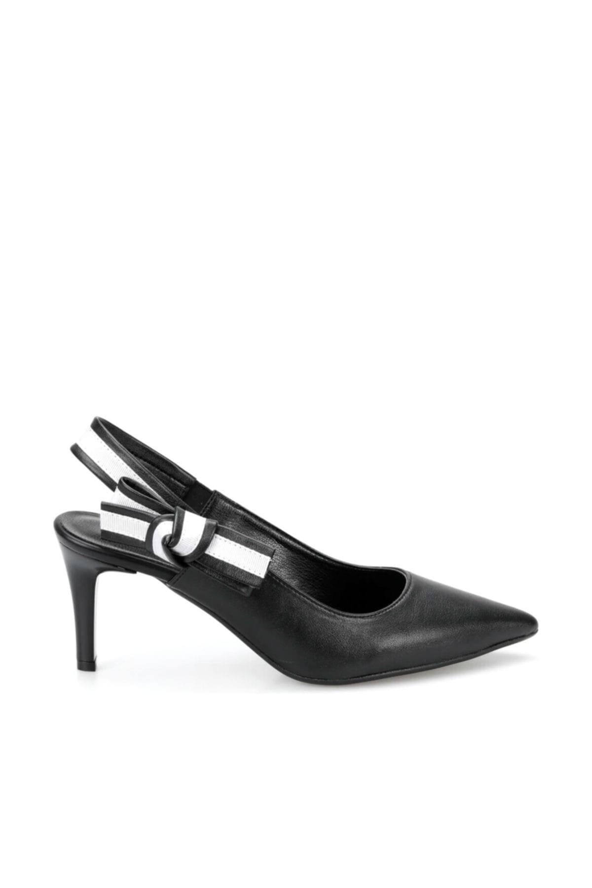 Miss F DS19074 Siyah Kadın Gova Ayakkabı 100382791 2