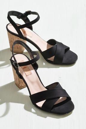 Elle Shoes GOLETA Siyah Kadın Ayakkabı