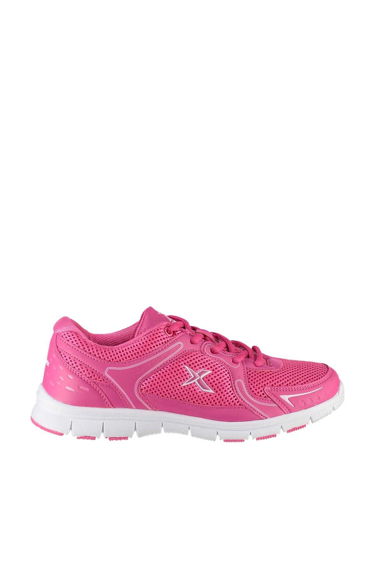 Kinetix 1235577 Fuşya Beyaz Kadın Koşu Ayakkabısı 100163188 1