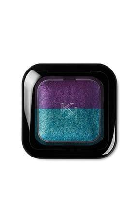 KIKO 2'li Göz Farı - Bright Duo Baked Eyeshadow 09 Pearly Emerald - Metallic Violet 8025272603515