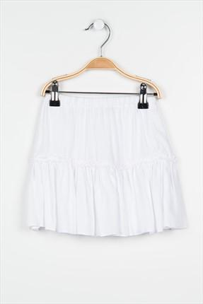 Pitti Kız Çocuk Beyaz Etek 9233
