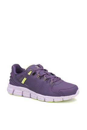 Kinetix A1315276 Mor Lila Neon Yeşil Kadın Koşu Ayakkabısı 100223334