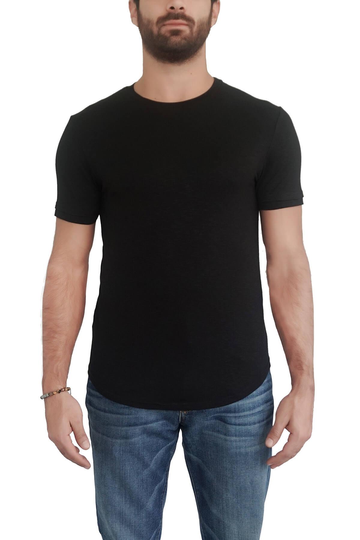 MOF Erkek Siyah T-Shirt SYÇKOET-S 1
