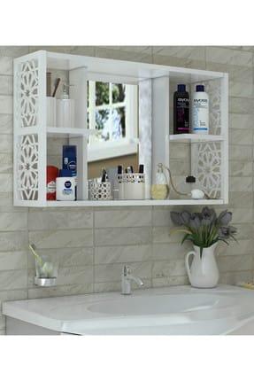Remaks Aynalı Banyo Dolabı beyaz