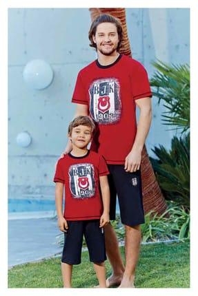 ROLY POLY Erkek Kırmızı Süprem Beşiktaş Şortlu Takım