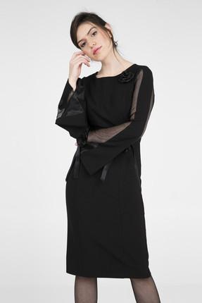 TREND Kadın Siyah Elbise 4784115