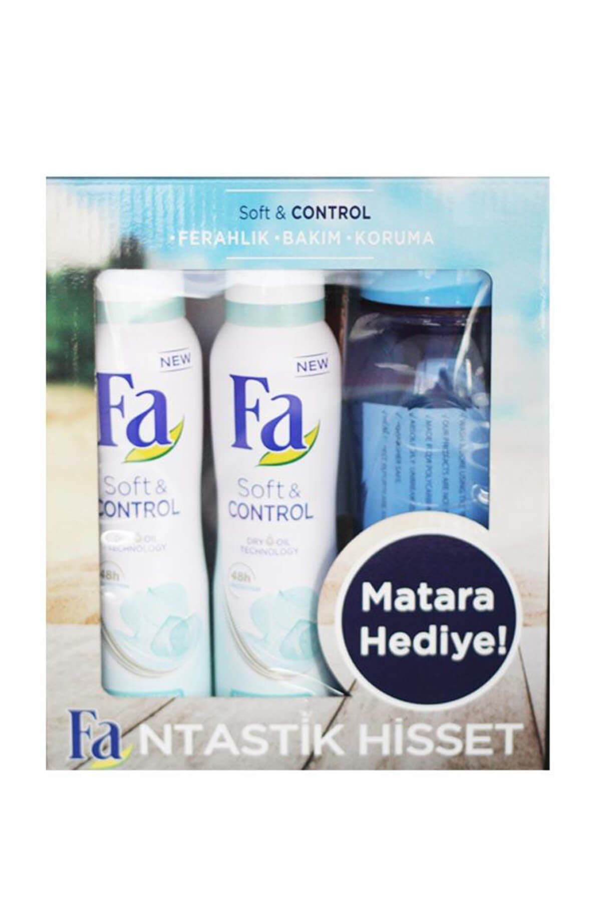 Fa Soft&Control Deodorant 2X150 ml Matara Hediyeli 1