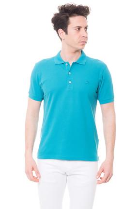 Karaca Erkek Slim Fit Pike T Shirt   Petrol