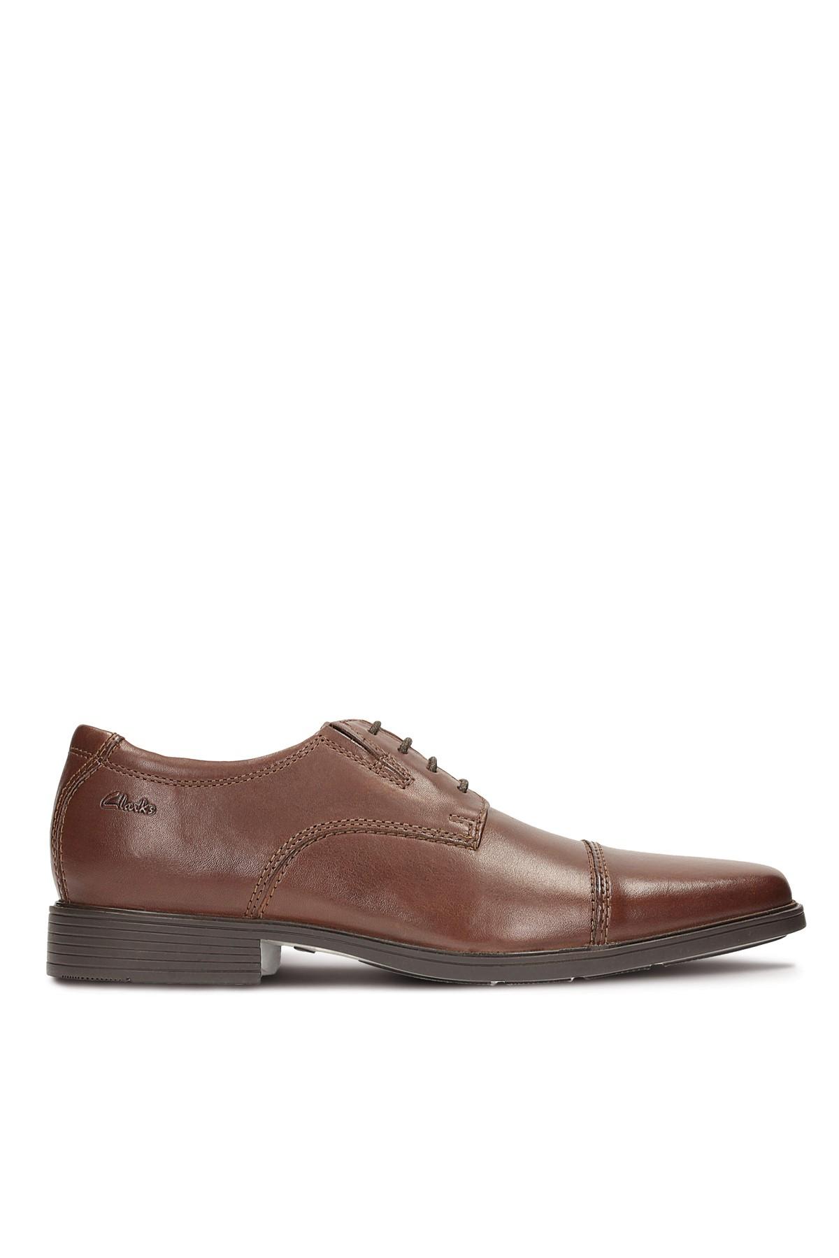 CLARKS Hakiki Deri Kahverengi Erkek Ayakkabı 261103067 1