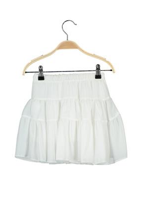 Pitti Kız Çocuk Beyaz Etek 92005