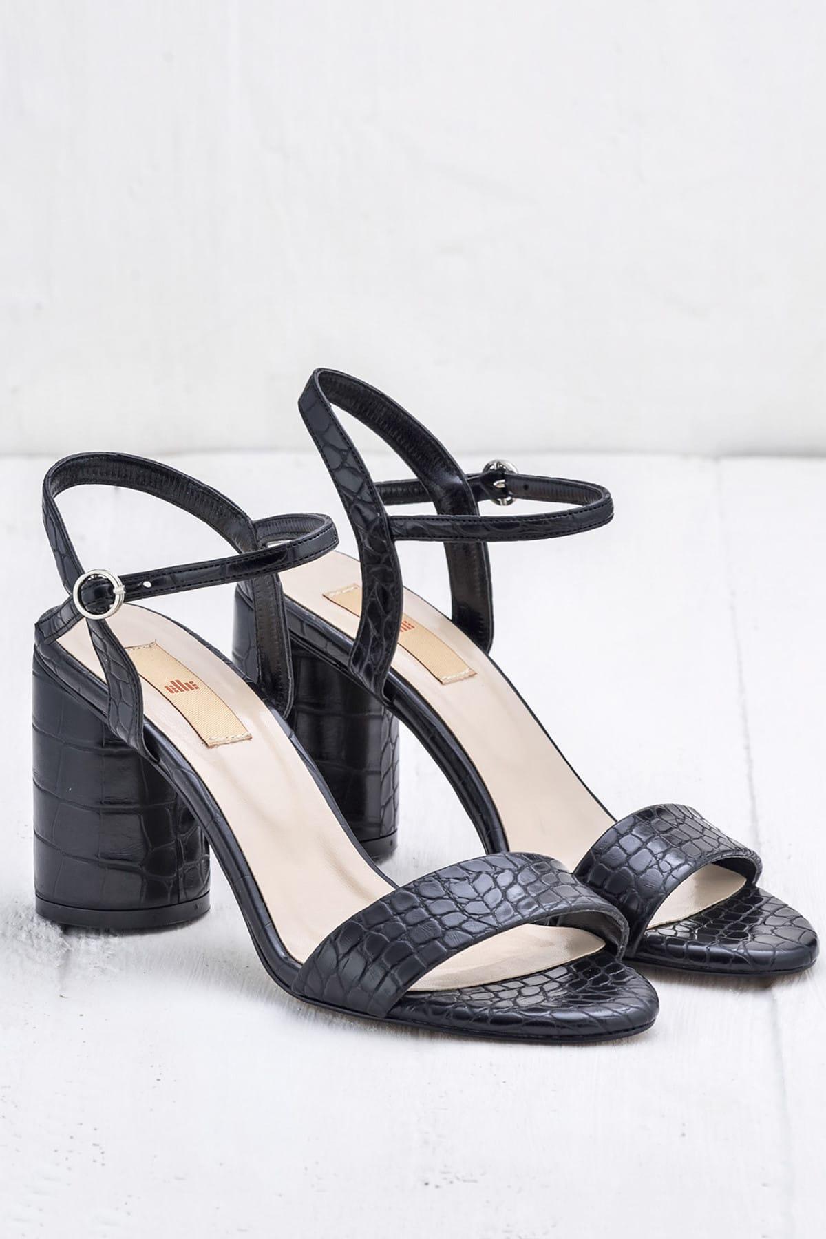 Elle Shoes SYLVIA Siyah Kadın Ayakkabı 2
