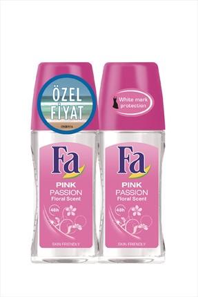 Fa Pink Passion 2'Li Kadın Deodorant Roll-On 50  ml   + 50 ml