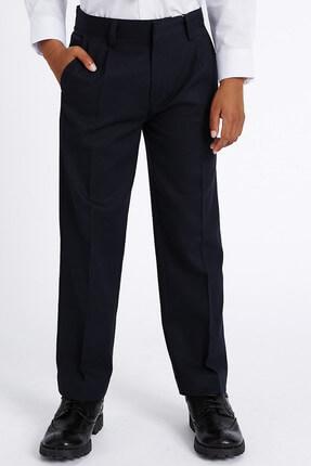 Marks & Spencer Lacivert Erkek Çocuk Regular Leg Pantolon