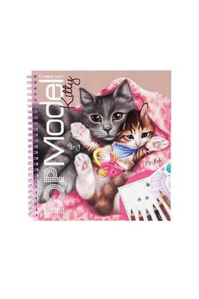 Top Model Kitty Boyama Kitabı 6671  /