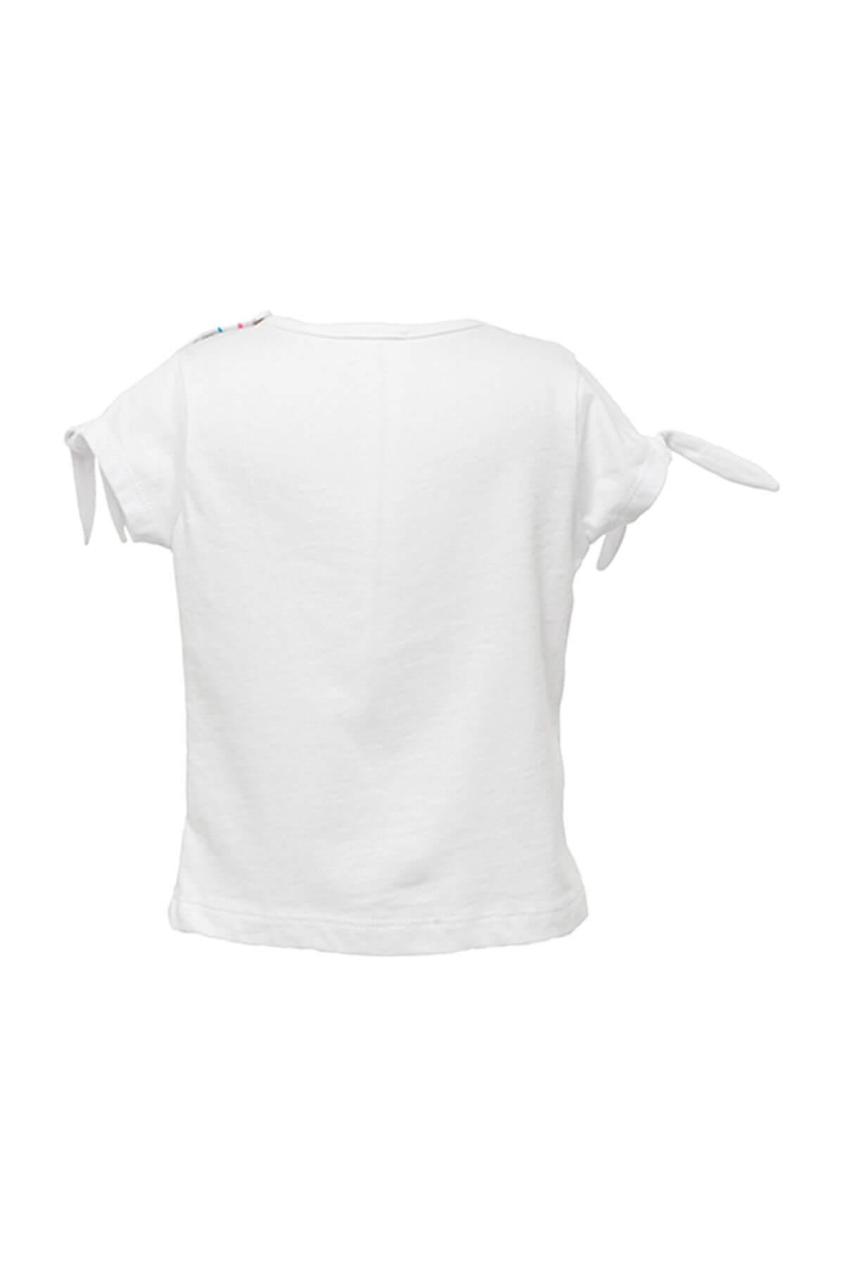 Zeyland Beyaz Kız Bebek T-Shirt 81Z2HNT54 2