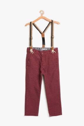 Koton Bordo Erkek Çocuk Pantolon