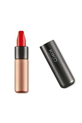 KIKO Saten Mat Ruj - Velvet Passion Matte Lipstick 311 Poppy Red 8025272630245