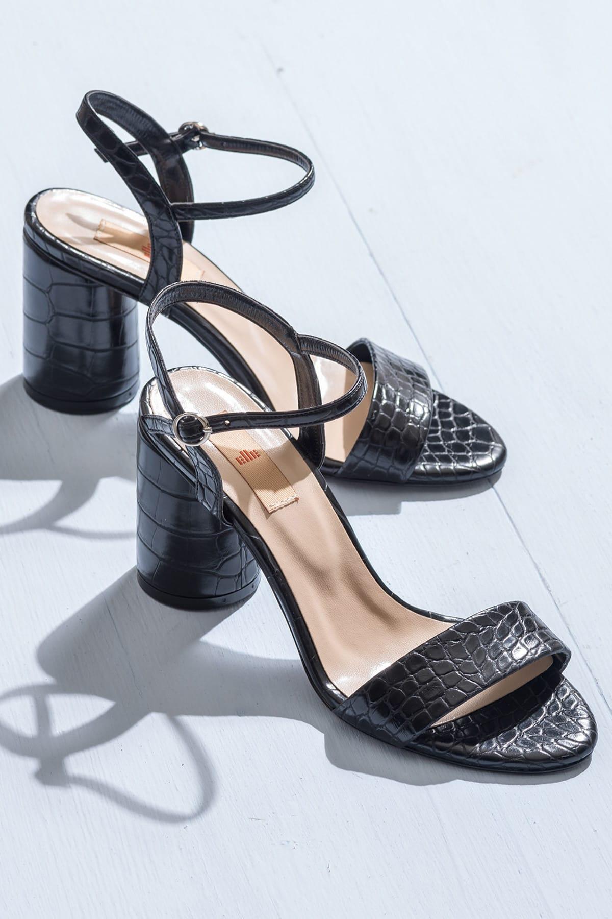 Elle Shoes SYLVIA Siyah Kadın Ayakkabı 1