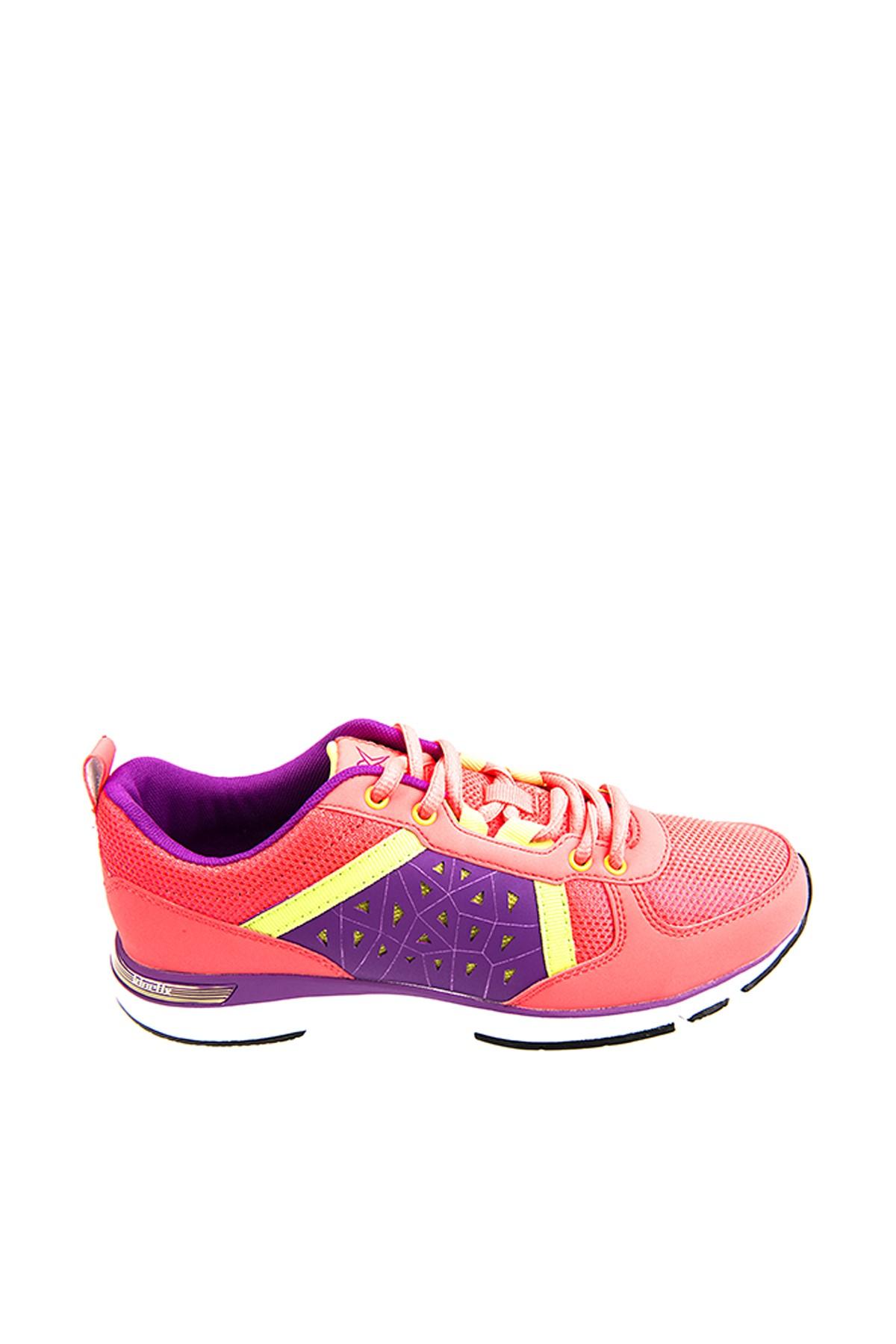 Kinetix 1235346 Pembe Mor Yeşil Kadın Fitness Ayakkabısı 100180967 1