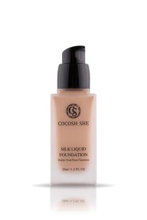Cocosh She Fondöten - Waterproof Silk Liquid Foundation 02 Beige 8681569700413