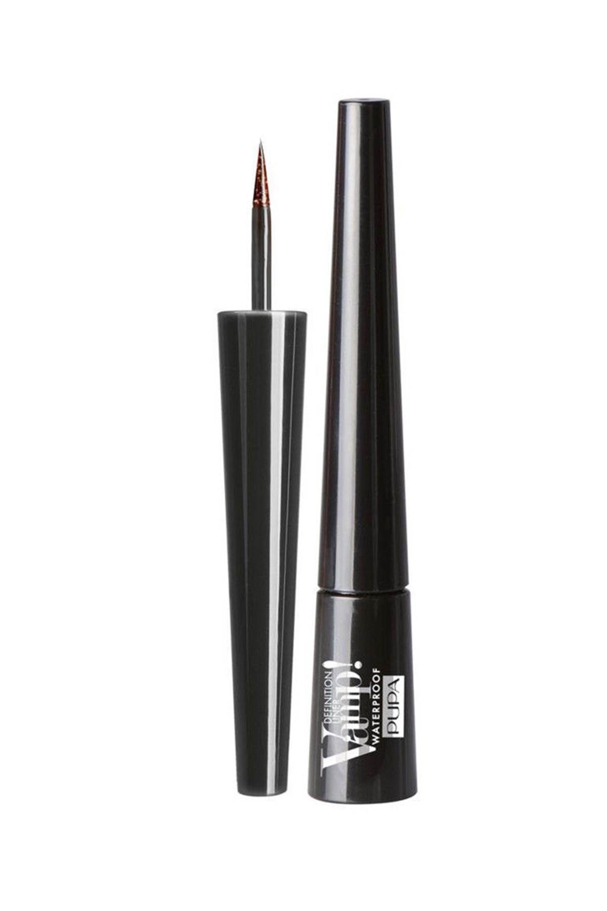 Pupa Milano Suya Dayanıklı Eyeliner - Vamp Definition Liner Waterproof No: 001 2.5 ml 8011607228966 1