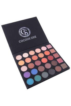 Cocosh She 30'lu Göz Farı Paleti - Excellent Eyeshadow Palette 8681569722460