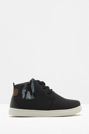 Koton Siyah Erkekçocuk Ayakkabı