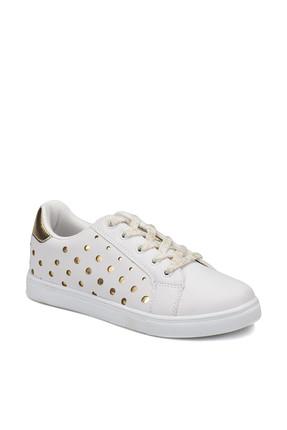 I COOL POINT Beyaz Kız Çocuk Sneaker Ayakkabı 100258539
