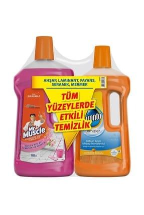 Pronto Ahşap Temizleyici 750 ml + Mr Muscle Yüzey Temizleyici 1 lt