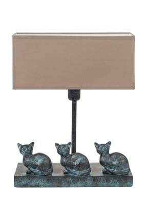 Mudo Concept Neo Gattını Antrasit 3Lü Kedi Abajur