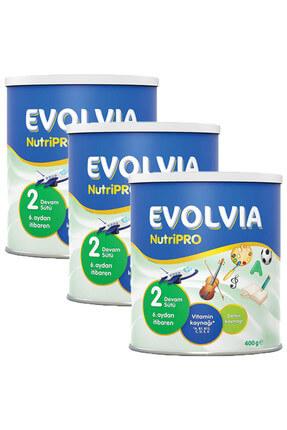 Evolvia Devam Sütü 2 Numara Nutripro 400 Gr X 3 Adet