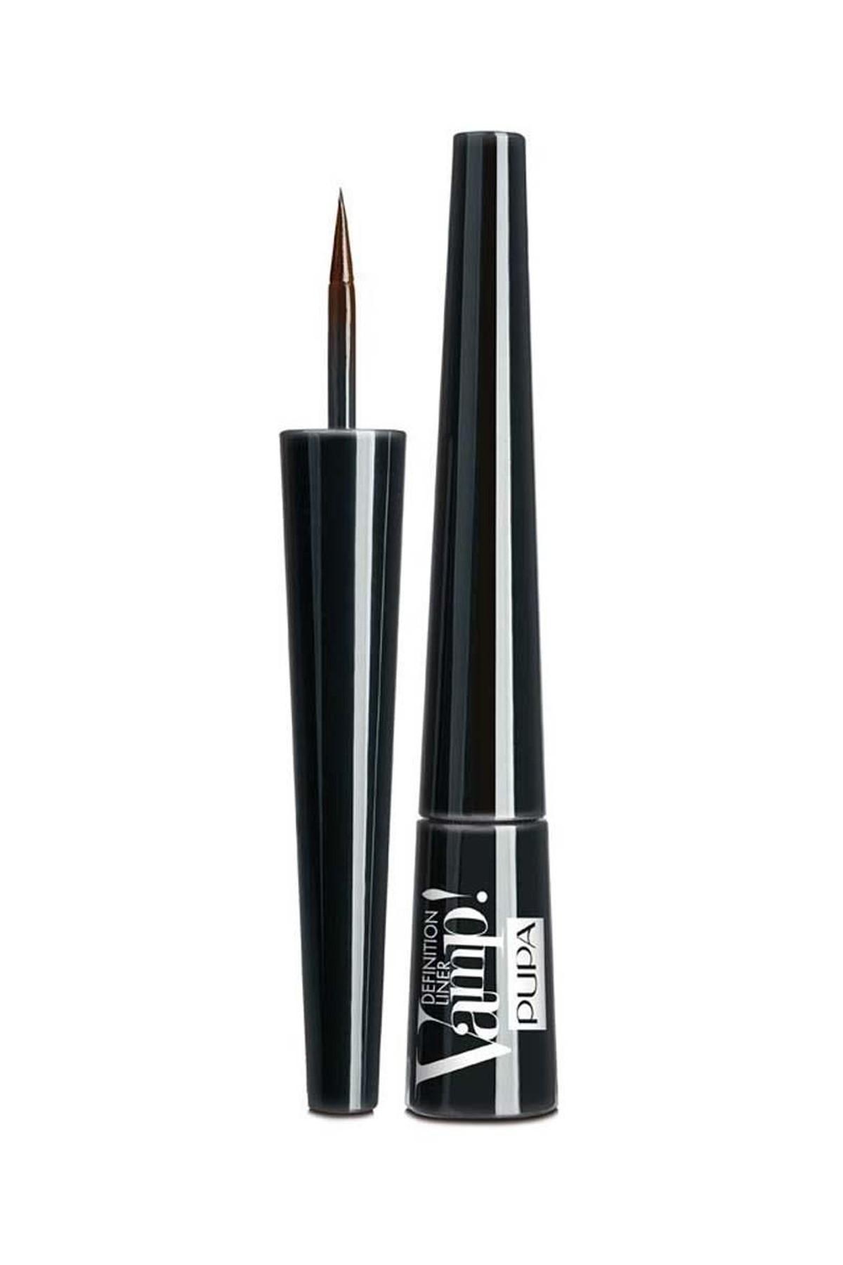 Pupa Milano Eyeliner - Vamp Definition Liner Eyeliner No: 100 2.5 ml 8011607205899 1
