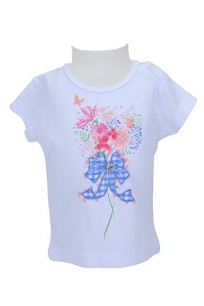 Zeyland Beyaz Kız Bebek T-Shirt 71M2LKF51