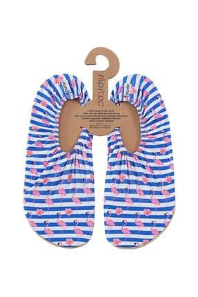 SLIPSTOP Kadın Deniz Ayakkabısı -  Stripe Kadın Kaydırmaz Ayakkabı / Patik - SS17140070