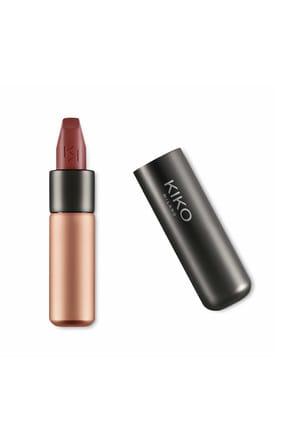 KIKO Saten Mat Ruj - Velvet Passion Matte Lipstick 319 Chocolate 8025272630313