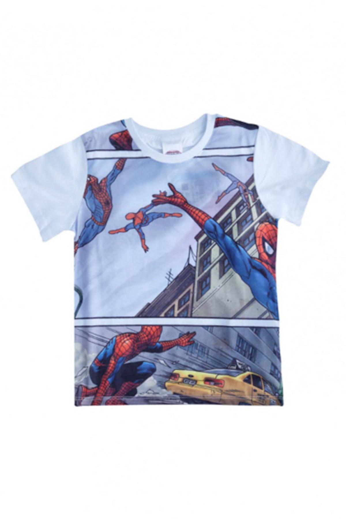 Soobe Ultimate Spider-Man Kısa Kol T-Shirt  Beyaz   15YECTSRT1329_00-0001 1