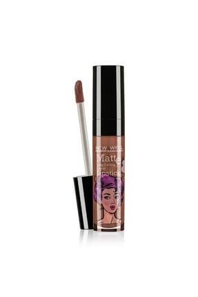 New Well Likit Ruj - Handmade Liquid Lipstick 588 6 ml 8680923315881