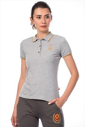 Galatasaray Galatasaray Kadın Grimelanj Polo Yaka T-Shirt - Y023-K80146